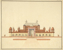 Mausoleum of Akbar, Sikandra 1783